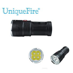 Uniquefire 5000 Lumen UF-V10-4 4 Led Cree XM-L2 led High Brightness High Power Flashlight Bulb for 4*18650 Rechargeable Battery