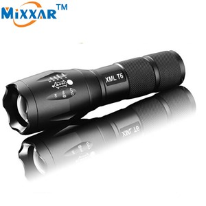 ZK50 E17 CREE XM-L T6 4000 LM LED Flashlight  Adjusted Led Torch can be used for Bicycle Front Head