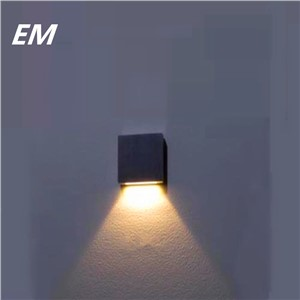 Modern wall lighting 90~260V 3W Cool White/Warm White  Led Wall Lamp Silver Aluminum 60*60*12mm Led Stair Lighting ZBD0023