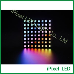 DC5V flexible led panel mini led dot matrix APA102 80*80mm