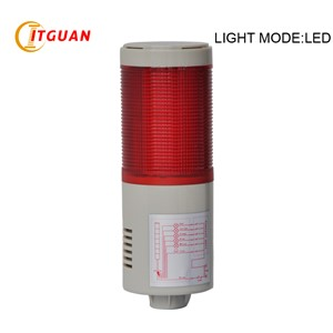 LTA-505: 1 Layer led signal tower light Alarm Industrial Emergency led tower light AC220V DC12V DC24V
