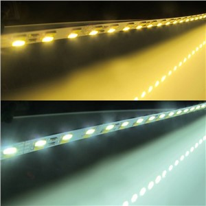 100pcs/lot DHL free Samsung chip Cool with Warm White CW+WW double color 50cm 5630 hard LED bar light  Rigid Strip max 25w DC12V
