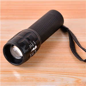 300 Lumens Mini CREE LED Smooth Reflector Flashlight Torch Lantern
