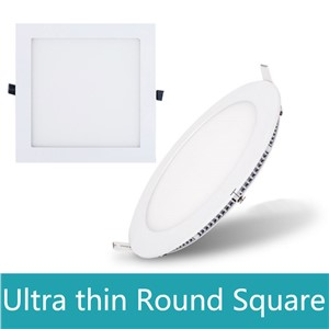 Led Panel Light 3w 4w 6w 9w 12w 15w 18w 24w Round/Square LED Ceiling Recessed Light Spot LED Downlight lamp for bathroom IP44