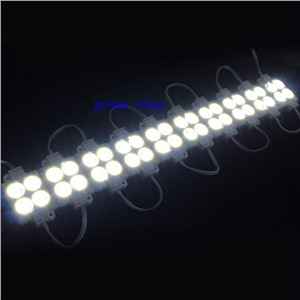 Super brighter 100PCS SMD 5630 4 LED Module DC12V Injection waterproof IP68 white square led module lighting for sign letter