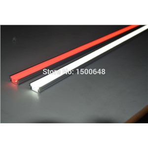 20pcs/lot Recessed aluminum profile for underground floor Milky PC