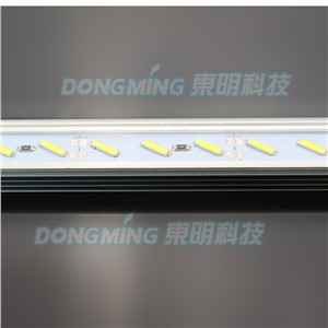 Aluminium U Profile LED luces Strip 8520 smd 50cm 36leds 12V with pc covcer led bar light kitchen led under cabinet light