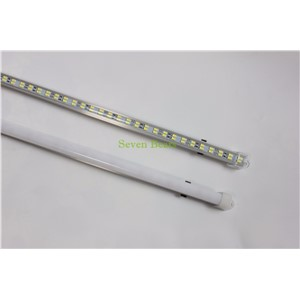 Double row 5pcs/lot 50cm 72 LED 5730 SMD Non Waterproof Hard Rigid Strip Cabinet Bar Light  White Warm White With Cover DC12V