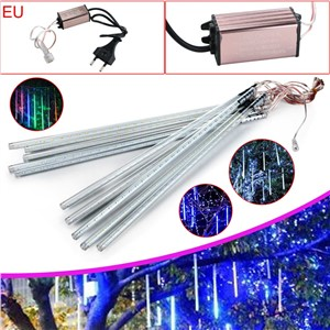 High Quality Waterproof Meteor Shower Rain Tube SMD 2835 54LED String Light W/EU Set
