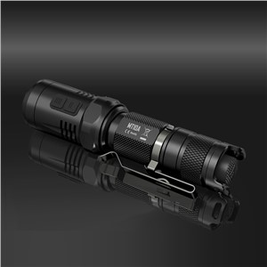 NITECORE MT10A Tactical Flashlight EDC Cree XM-L2 U2 920 lumens LED Mini Torch with Red +White Light by 14500/AA Battery