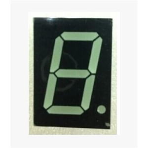 50PCS / LOT  7-Seg LED Nixietube Digital Tube   LED Module   LED Segment Displays  1.0 inches a single, common cathode, red LED