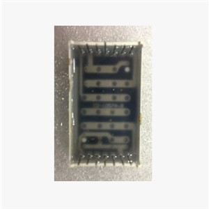 10PCS/LOT LED digital dot matrix module, F3.0 5*7 with side red, common anode, lattice digital pipe