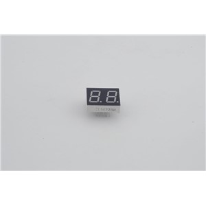"0.5""  inch  red LED, 5022 7 segment red led display 2 digits"