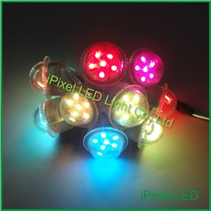 smart pixel led Rgb Amusement Park Lights 26mm 35mm