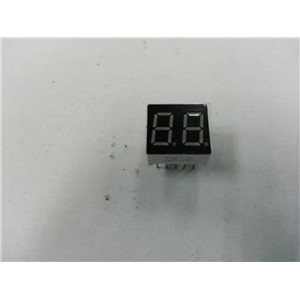 "0.36"" inch   blue  common cathode 7 segment blue led display 2 digits"