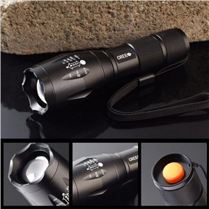 3 Models Portable 4000 Lumens Aluminium Alloy LED Cree T6 Flashlight Torch Zoomable Powerful Lamp Light With 18650 or aaa