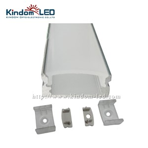KINDOMLED 10sets* 1m per piece Anodized diffuse/clear cover slim aluminum profile led strip light for led strip light
