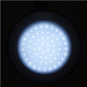 60LED Outdoor Indoor Lamp with Lampshade Circle Tent White Light  Hanging Lamp