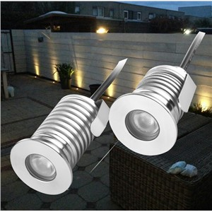 3W IP67 Waterproof LED Outdoor Ground Garden Path Floor Underground Buried Yard Inground Lamp Recessed Spot Landscape Light Kit