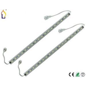 (50 pcs/lot) waterproof SMD5730 20W 72led Rigid Aluminum Led Bar Strip DC12V 100cm G shape Led regid lights