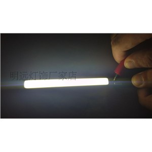 50x7mm LED COB plate surface light source lamp plate strip COB line light source, 9-11V lamp Desk lamp lamp bead light source