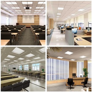 SXZM 12W LED panel light 300x300 square lampada high bright led indoor ceiling lamp white/warm white with waterproof led driver