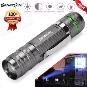Super 3000LM Zoomable CREE XM-L T6 LED 18650 Flashlight Torch Super Bright Light 170118