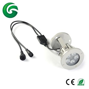 15W 24vdc 5x3w RGB Led Garden light IP65 Outdoor with 3 years warranty
