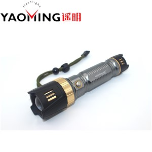 Powerful Cree Q8 Led Flashlight 2000LM Led Torch zoomable Tactical Flashlight for self-defense by 18650/26650 battery lanterna