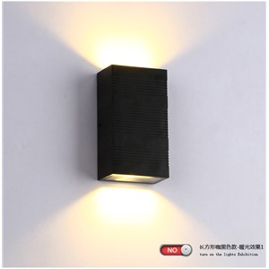 6W IP65 Waterproof outdoor wall lighting / outdoor wall lamp / LED Porch Lights / waterproof lamp outdoor lighting wall lamp