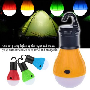 Portable LED Portable Camping outdoor Hanging 3-LED Camping Lantern,Soft Light Camp Lights Bulb Lamp For Camping Tent Fishing