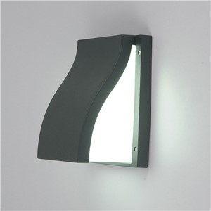 led outdoor wall lamp personality rainproof landscape light residential backyard garden wall sconce