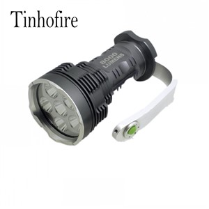 Tinhofire 8000 Lumens CREE XM-L 6x T6 LED Flashlight Torch Portable light Lamp XY-600 6T6