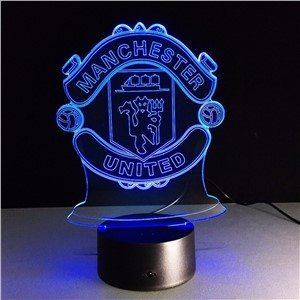 3D LED Night Light Lampara Futbol USB Novelty Gift Football Club RGB LED Night Light 7Color Desk Lamp Decor Kids Table Lamp