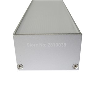 5 X1M Sets/Lot Square type Anodized led lichtprofile and Extruded led streifen profil for wall or ceiling strip lights