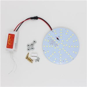 on Sale! 10W 180-265V LED Panel Lamp Round 5730 Magnetic LED Ceiling Panel Light Plate Aluminium Board for DIY