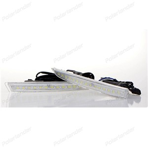 Car styling daytiime running lights for F/ord k/uga Or E/scape 2013-2015 with turn signal