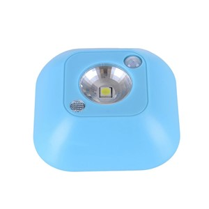 Wireless Mini LED Night Light Motion Activated Sensor Lights Battery Powered Wall Emergency Night Lamp