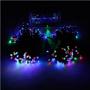 Solar Power 200 LED Fairy Light For Xmas Wedding Party Garden Decoration Lamp multicolor