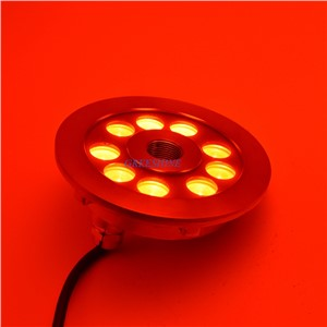 304/316 stainless steel 27W RGB DMX Underwater LED Light for Fountain Multicolor Pond Light LED D149XH61MM 4pcs/lot