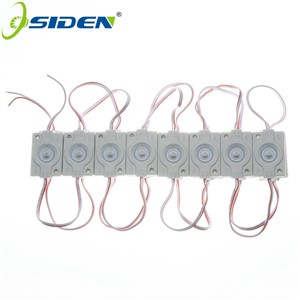 OSIDEN 1.5W/led 20pcs/lot 12V led module Pixel lights 3030 SMD1.5W high power led modul light for signage advertising