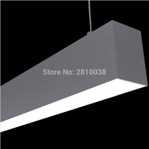 10 X 1 M Sets/Lot U type office lighting led aluminium profile and led u channel for suspension or pendant lights