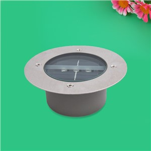 Waterproof Solar Light LED Round Underground Garden Yard Road Path Outdoor Lamp Lampada Led