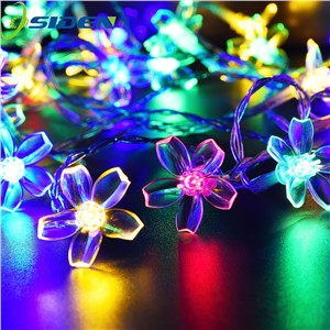 OSIDEN 10M 100LED floral String Lights Waterproof Holiday Light Outdoor Garden Lighting For Christmas Festival Party Decoration