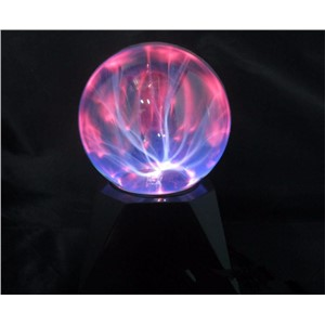 4 /5/6/8 inch Crystal Plasma Ball Magic Glass Sphere Light USB Novelty  Electric Lightning Ball Table Lamp Party Decor Lamp Gift