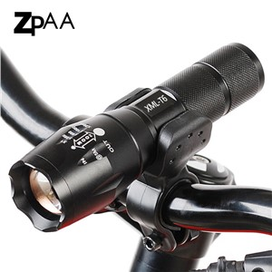 Hot Led Bike Flashlight Bicycle Light 5000 LM 5 Mode Bike T6/L2 Bike Light Lights Lamp Front Torch Waterproof Lamp + Bike Holder