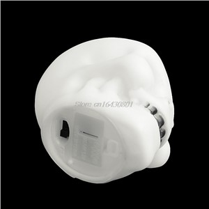 Colorful Flash LED Mini Skull Night Light Lamp Halloween Party Decor Gift Prop New XQ_7 High Quality