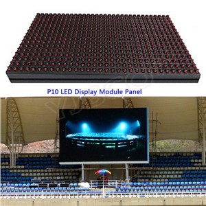 RGB LED Module Window Sign Shop Sign out door IP65 320*160mm full color /single color Matrix DIY P10 LED Display Module Panel