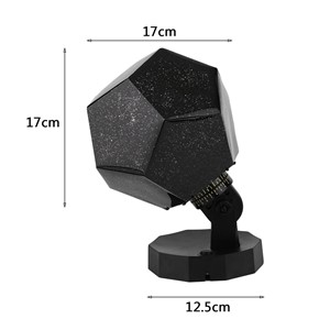 Home Decor Romantic Astro Star Sky Projection Cosmos Night Light Lamp P20