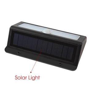 600LM 22 LED Solar Light PIR Motion Sensor Solar Power Outdoor LED Garden Light Waterproof Security Pathway Emergency Wall Lamp